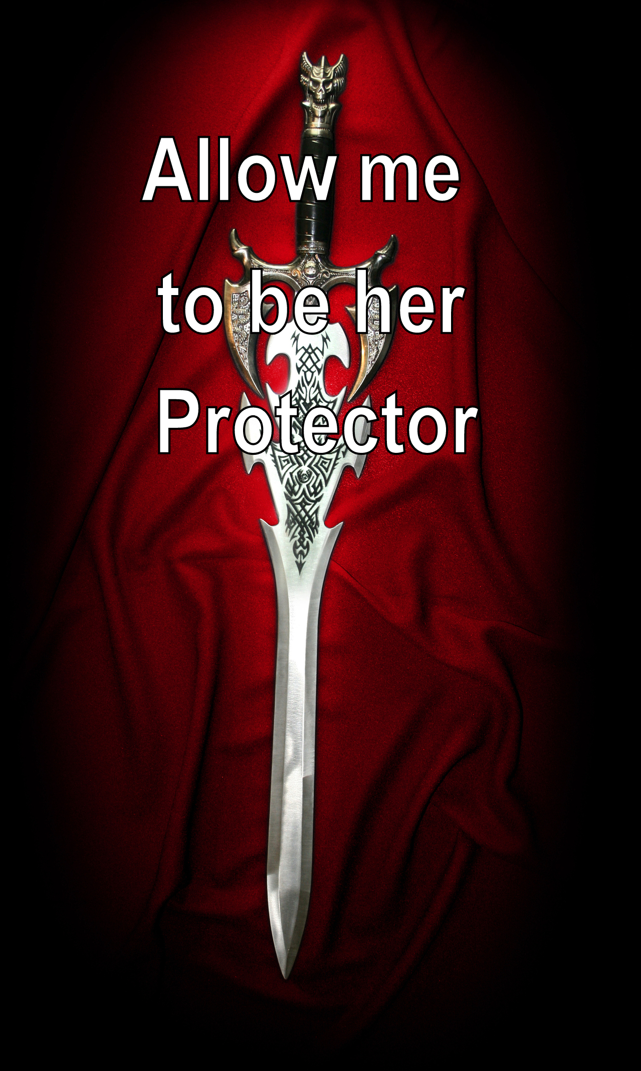 Writing Prompt: Allow me to be her protector