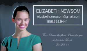 Elizabeth Newsom Business Card