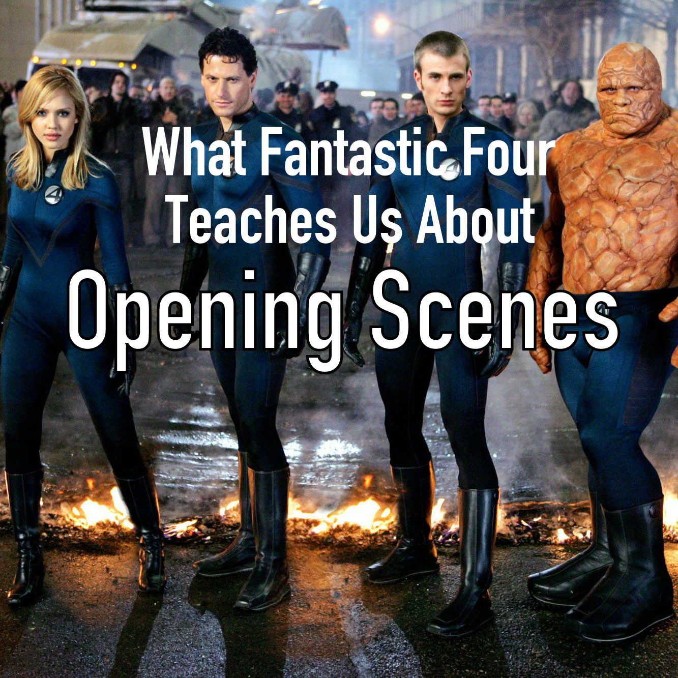 Fantastic Four writing tips super heroes