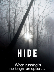 forest book cover 2 hide when running is no longer an option creepy writing