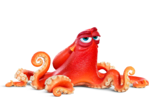 hank the octopus finding dory