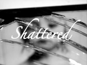 mirror book cover Shattered
