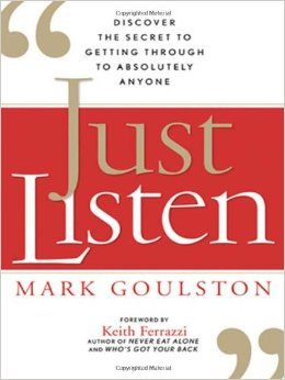 Book Review- Just Listen