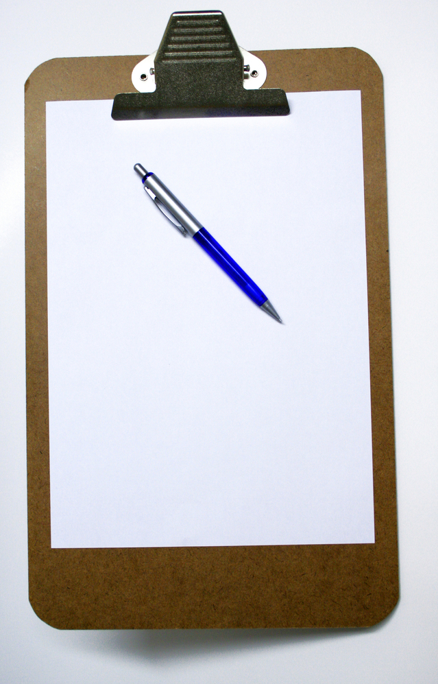 clipboard schedules