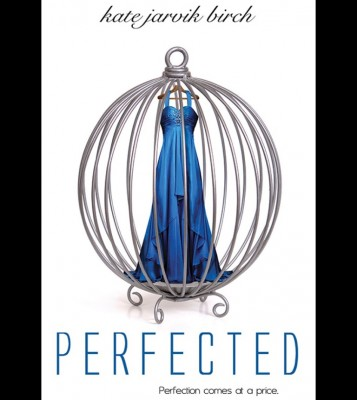 YA Dystopian Romance for Teens Beautiful sapphire dress in a cage