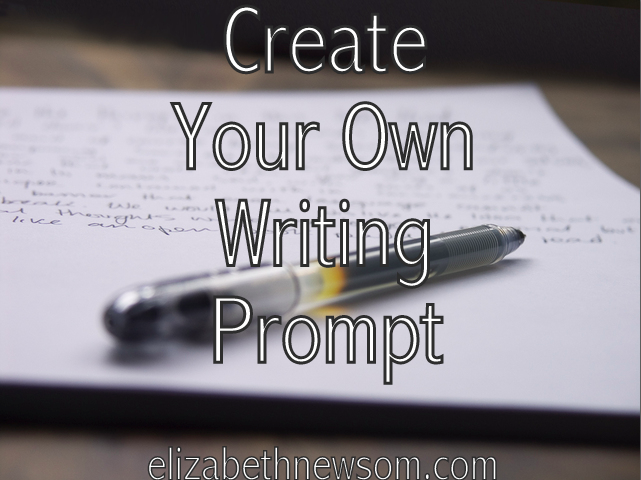 Writing Prompt Paper Pen